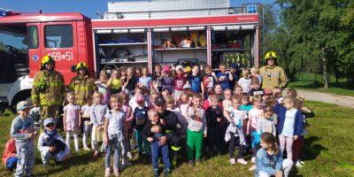 Strażacy odwiedzili nasze przedszkole
